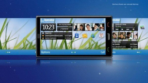 nokia 2010 symbian 600 - Nokia apresenta novas telas do seu sistema operacional