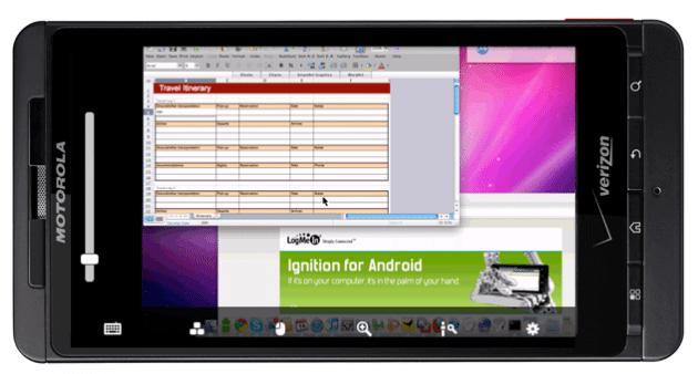 logMeIn Android - Acesso Remoto ao PC no seu celular Android