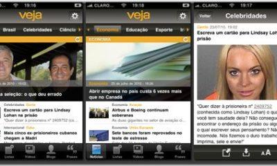 veja telas 01 thumb - Novo aplicativo: Revista Veja para iPhones e iPads
