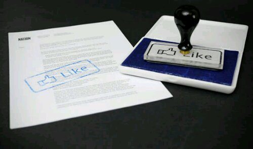 wpid Facebook Like Button Stamp - Humor: Viciando no Facebook?