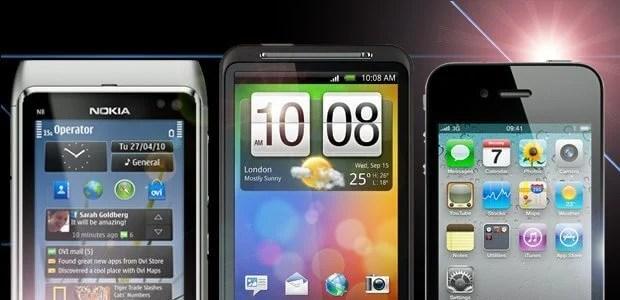 nokia iphone htc desire - Guia Showmetech: os melhores smartphones para este Natal – 2010