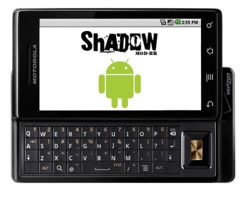 Milestone ShadowModBr - AndroidMOD: ShadowMOD-BR v0.9.16 (2011-01-27) para o Motorola Milestone
