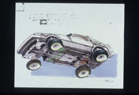 concept drawings back to the future 11 - IMAGENS: Back to the Future II Concept Art