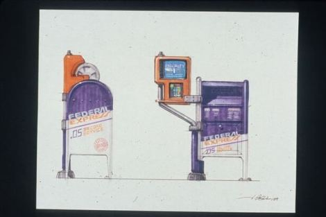 concept drawings back to the future 9 - IMAGENS: Back to the Future II Concept Art