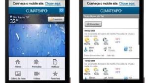 Climatempo lança aplicativo para smartphones Android 7