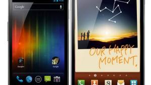 Samsung Galaxy Nexus vs. Galaxy Note 8