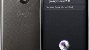 nexus siri - Siri foi crackeada e pode ser portada para outros devices e plataformas