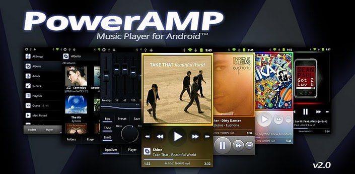 powerAMP 2.0 - PowerAMP lança versão 2.0 (Android)