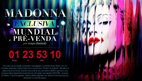 Untitled - Madonna chega ao topo da iTunes Store