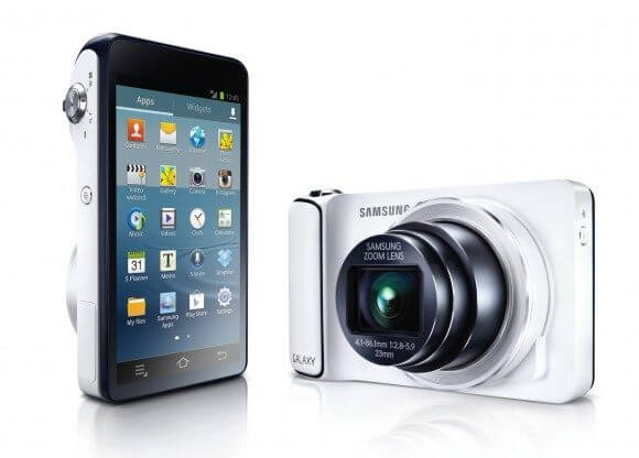 GALAXY Camera pair 580x416 - Samsung anuncia câmera com 16 megapixels e Android 4.1