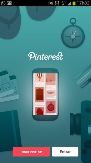 Pinterest Android - Rede social Pinterest chega ao Android