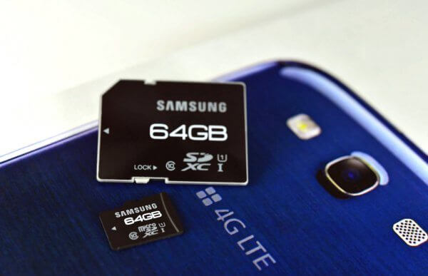 samsunguhs i sd micro sd ifa1 - Samsung revela cartões MicroSD de 64GB