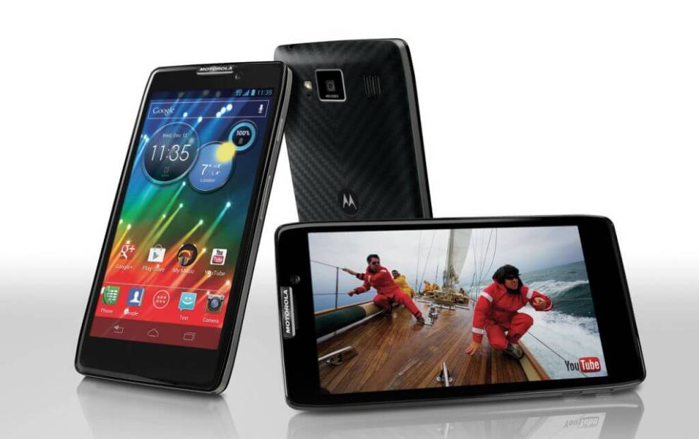 Motorola lança RAZR HD: o primeiro smartphone 4G do Brasil 4