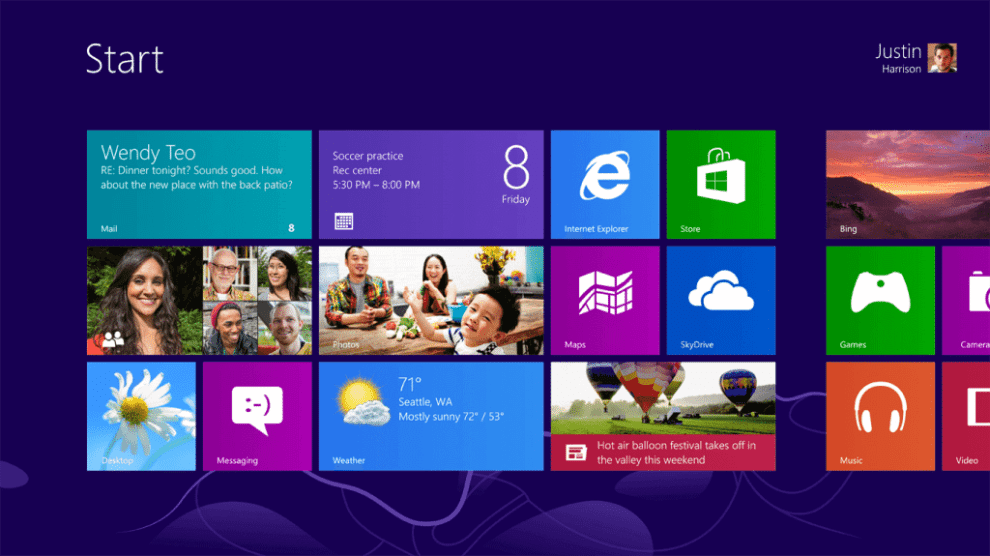 6560.SCREENSHOT WIN8 START 3ROW WEB WW EN - Pré-venda oferece Windows 8 por R$ 269
