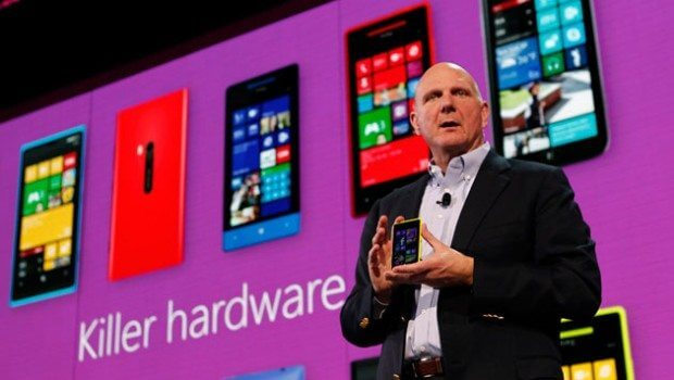 steve ballmer windows phone 8 301012 620x350 - Microsoft promete loja de aplicativos completa para Windows Phone
