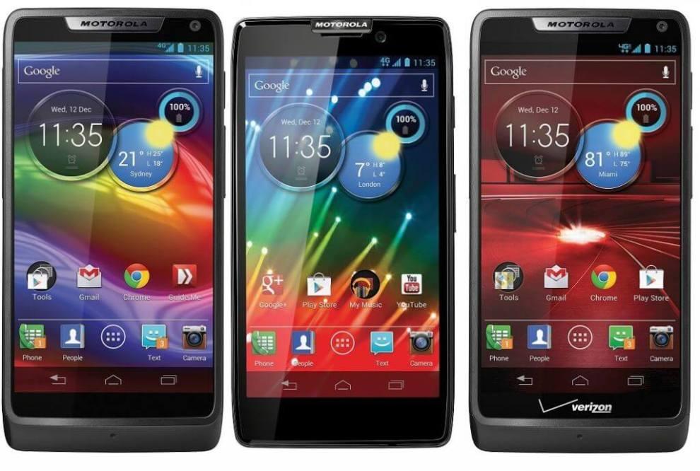 Motorola RAZR HD RAZR M RAZR I Android 4.1 Jelly Bean - Motorola Razr i e Razr HD recebem atualização Android 4.1 (Jelly Bean)