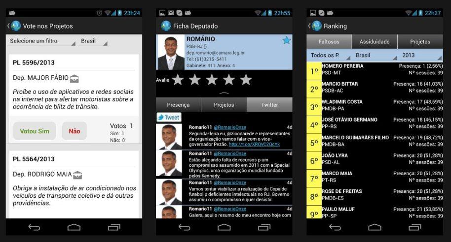 Captura de Tela 2013 06 24 às 17.53.55 - Aplicativo ajuda a monitorar Deputados Federais