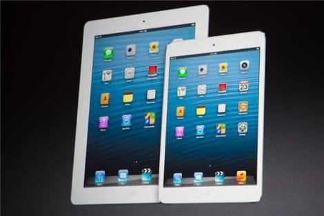 Ipad 4 e iPad mini - Com atraso, iPad mini chega às lojas nesta terça-feira