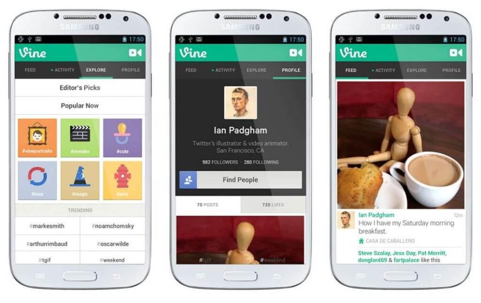 Vine para Android chega à Google Play 3