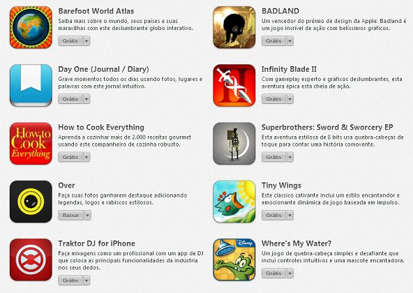 Apps Grátis