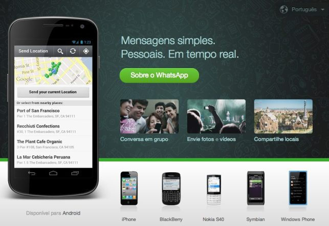 Whatsapp unifica formato de cobrança para todos os sistemas operacionais