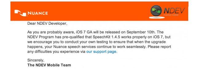 Emal revela que iOS 7 será lançado no dia 10 de setembro