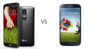 Comparativo: LG G2 vs. Samsung Galaxy S4 8