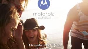 save the date - Moto X chega dia 03 de setembro ao Brasil