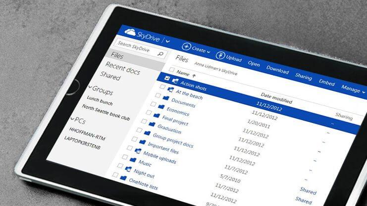 skydrive - SkyDrive terá que mudar de nome, mas segue adicionando funções