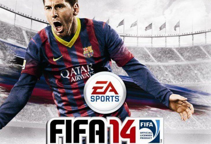 fifa 14 lionel messi cover - Jogamos: FIFA 14 (versão demo)