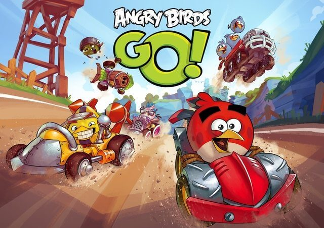 Angry Birds apresenta novo jogo no estilo Mario Kart 7