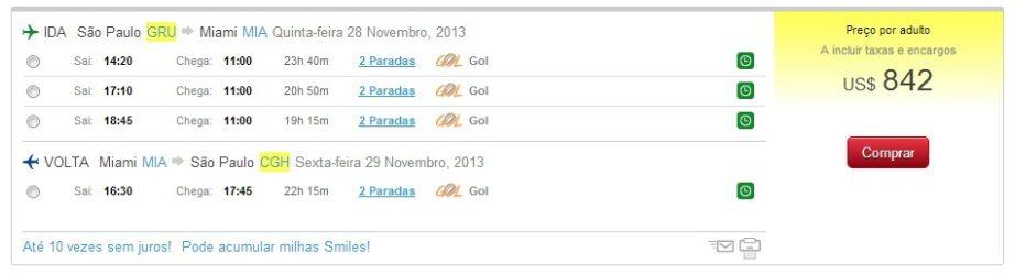 Captura de Tela 2013 10 17 às 17.25.24 - Viajar para comprar PlayStation 4 em Miami sai mais barato do que no Brasil