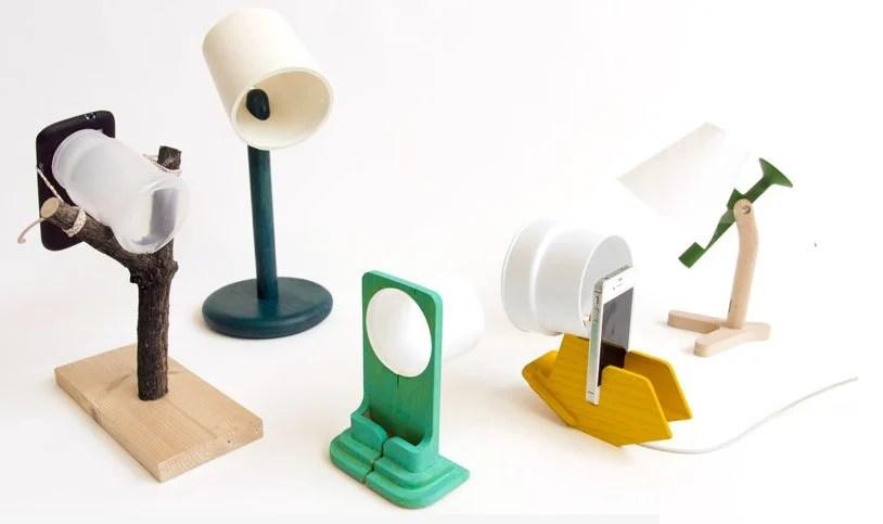 Designers transformam iPhone em abajur de cabeceira
