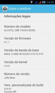 Alcatel One Touch M Pop - OT5020E (30)