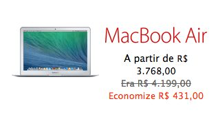 Captura de Tela 2013 11 29 às 08.55.46 - Loja virtual da Apple também dá descontos na Black Friday