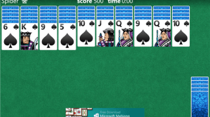 Microsoft Solitaire Collection para Windows Phone 8