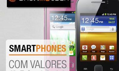 Campanha 1 mini - Especial de Natal: smartphones abaixo de R$ 500