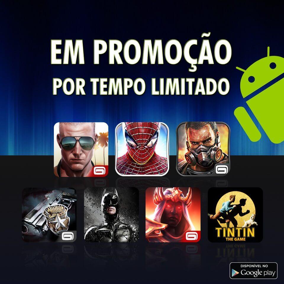 Android Promo 100214 - Gameloft faz promoção de jogos por R$ 2,36