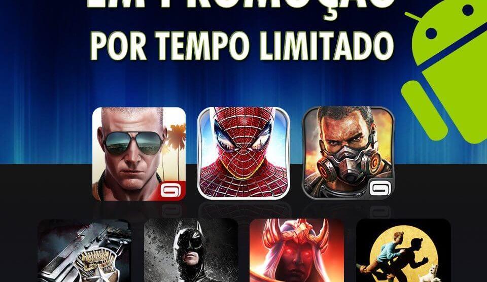 Gameloft faz promoção de jogos por R$ 2,36 8