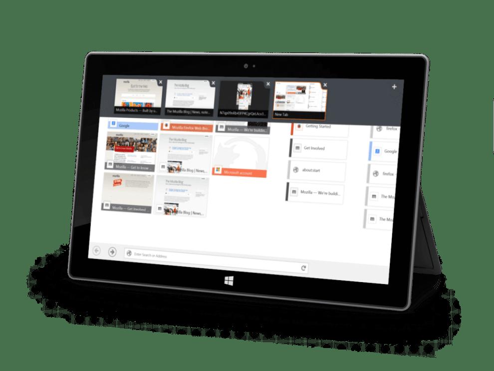Firefox for Windows 8 - Firefox recebe beta com interface otimizada para Windows 8