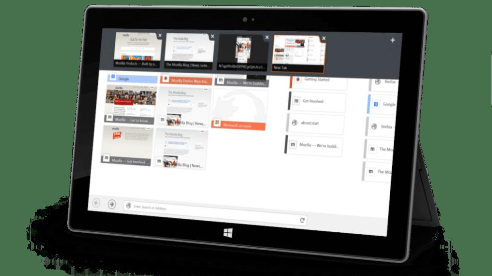 Firefox recebe beta com interface otimizada para Windows 8 6