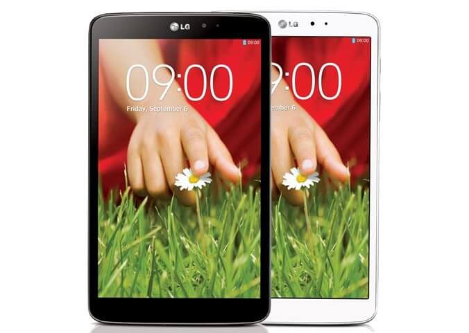 Review: tablet LG G Pad 8.3 6