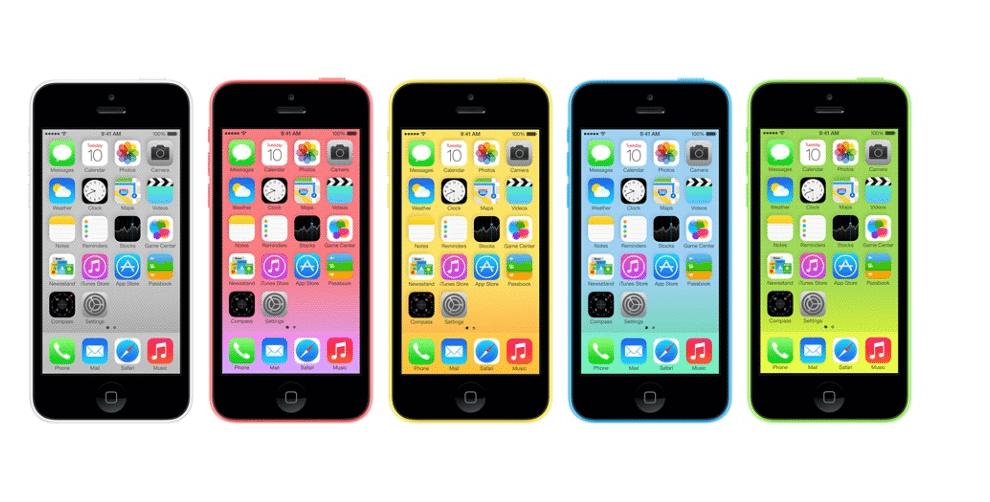 Apple lança iPhone 5c mais barato com 8GB de memória 8
