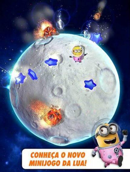 Meu Malvado Favorito: Minion Rush ganha cenário na lua