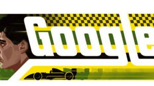 Google homenageia o piloto Ayrton Senna 18