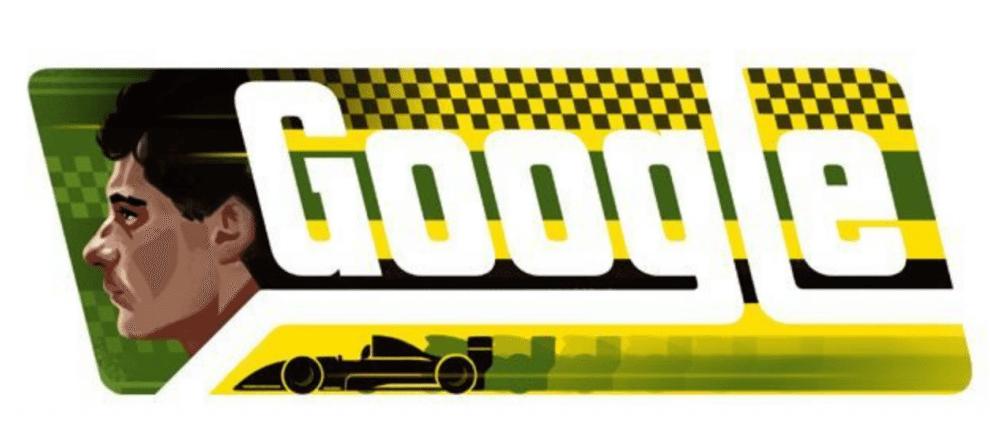 Google homenageia o piloto Ayrton Senna 8