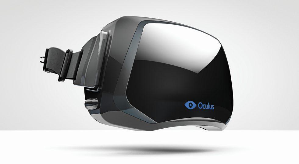Oculus VR - dispositivo de realidade aumentada / reprodução
