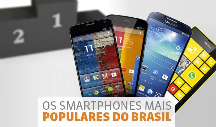 Moto G e Moto X lideram ranking dos smartphones mais populares no Brasil