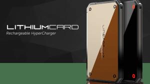 LithiumCard é uma bateria ultra-rápida para carregar na carteira 6