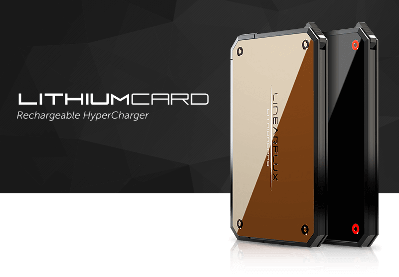 LithiumCard é uma bateria ultra-rápida para carregar na carteira 8